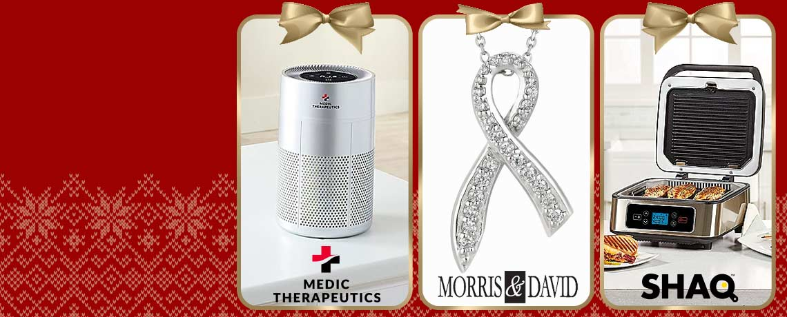 003-022 Medic Therapeutics Ultra Silent UVC Portable Activated Carbon HEPA H13 Air Purifier, 187-187 Morris & David 14K White Gold 0.26ctw Breast Cancer Awareness Ribbon Diamond Necklace, 496-627 SHAQ 3-in-1 Smokeless Contact Grill & Press wRemovable Grill Plates