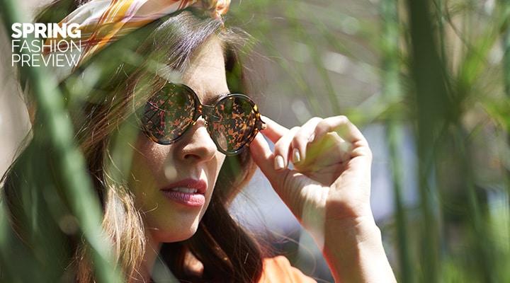 753-568 Christian Dior Umbrage 52mm Round Frame Sunglasses w Case