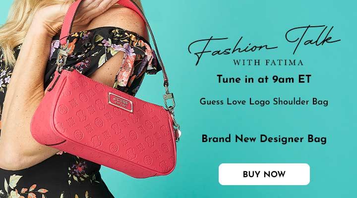748-900 Guess Love Logo Shoulder Bag
