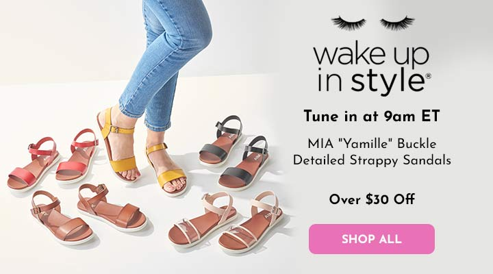 752-682 MIA Yamille Buckle Detailed Strappy Sandals