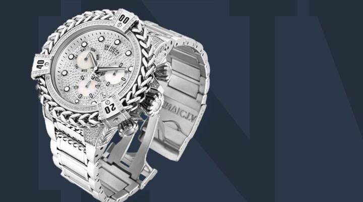 677-433 -  Invicta Bolt Herc Reserve Men's 56mm Swiss Quartz Chronograph 2.26ctw Diamond Bracelet Watch