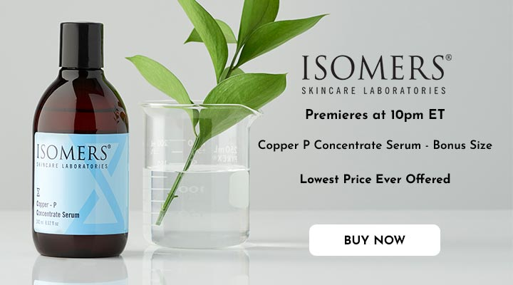 307-901 ISOMERS Skincare Bonus Size Copper P Concentrate Serum 8.12 oz