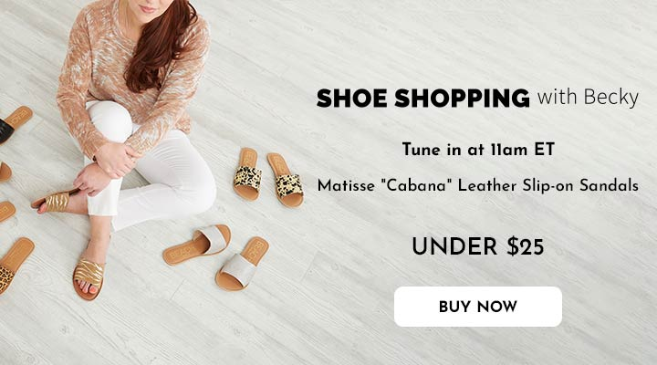 752-141 Matisse Cabana Leather Slip-on Sandals