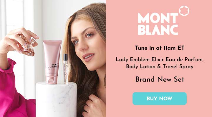 319-731 Mont Blanc Lady Emblem Elixir Eau de Parfum, Body Lotion & Travel Spray