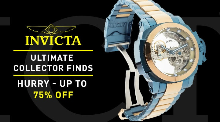 684-800 Invicta 48mm Man of War Ghost Automatic Skeletonized Dial Bracelet Watch