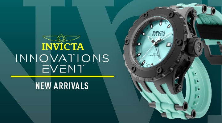 684-838 Invicta Reserve Men's 52mm SA Specialty Puppy Edition Swiss Quartz GMT Strap Watch