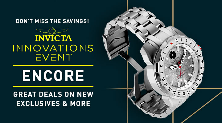Don't Miss The Savings!  Invicta Innovations Event Encore Great Deals On New Exclusives & More - 688-856 Invicta Star Wars Men's 50mm Limited Edition Quartz Stainless Steel Bracelet Watch