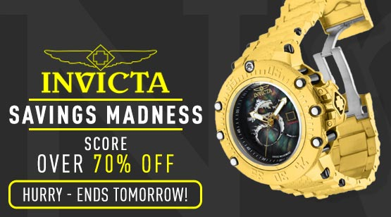 682-140 Invicta Men's 52mm Subaqua Noma VII Swiss R-150 Automatic Mother-of-Pearl Bracelet Watch