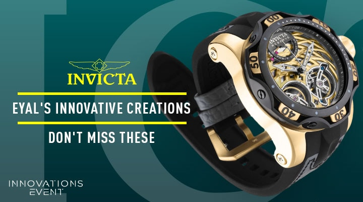 682-191 Invicta Reserve Men's 52mm Venom Gen III Automatic Double Open Heart Strap Watch