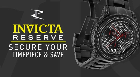 682-155 Invicta Reserve 47mm Subaqua Noma II Black Label Ltd Edition Swiss Quartz 3.30ctw Diamond Watch