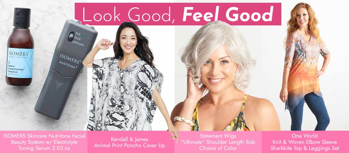 Look Good, Feel Good Shop Our Top Beauty & Fashion Brands