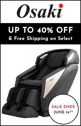 Osaki Flash Sale - Up to 40% Off - 004-928 Osaki Omni Massage Chair w L-Track, 6 Auto Programs, 6 Massage Styles & Foot Rollers