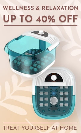 Wellness & Relaxation Up to 40% Off  Treat Yourself at Home - 316-674 Prospera Foot Spa Supreme