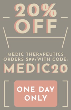 20% Off Medic Therapeutics Orders $99+  One Day Only