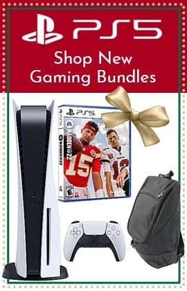 PS5 - Shop New Gaming Bundles - 510-112 PlayStation 5 Disc Version Console w Madden 2K22 & Carry Bag