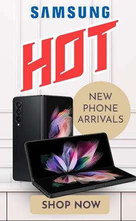 SAMSUNG - Hot New Phone Arrivals -  510-501 Samsung Galaxy Z Fold3 5G 256GB Unlocked GSMCDMA Foldable Smartphone