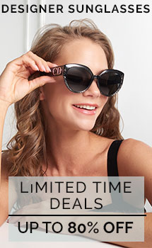 Designer Sunglasses Limited Time Deals Up to 80% Off
