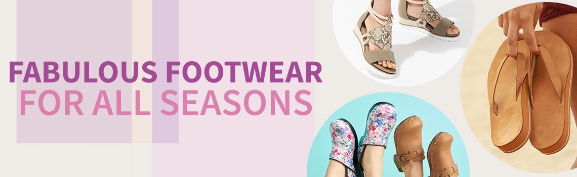 Fabulous Footwear For all Seasons