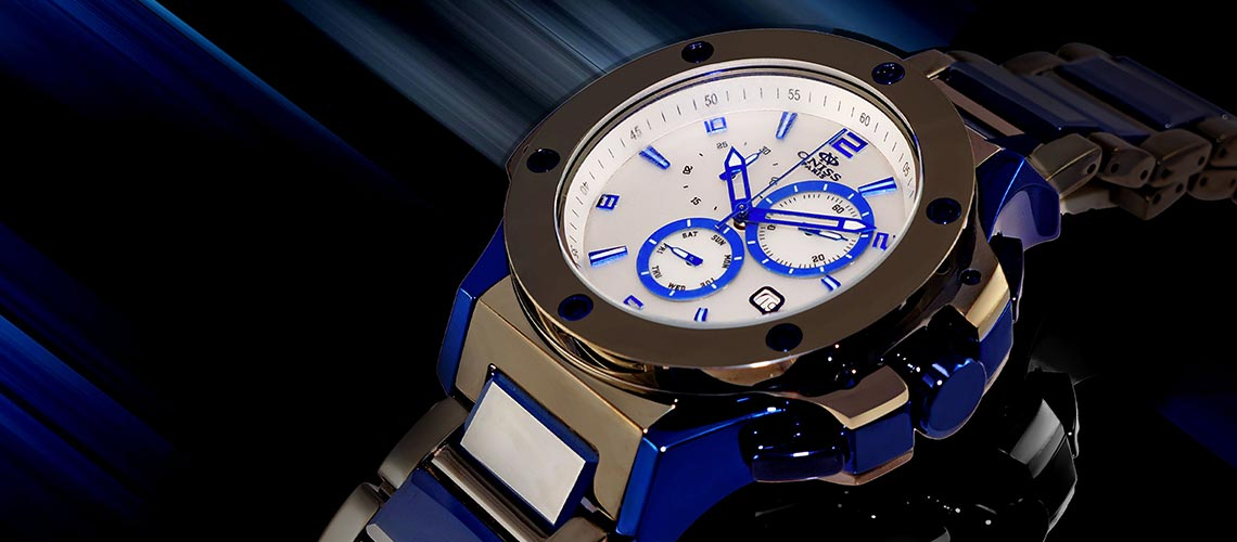 Oniss timepieces incorporate elements of high-end, iconic brands, and finish them in today's most durable materials, ceramic and tungsten.