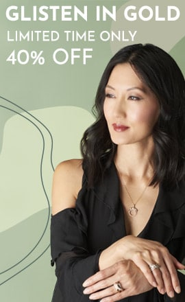 Glisten in Gold  40% Off Limited Time Only