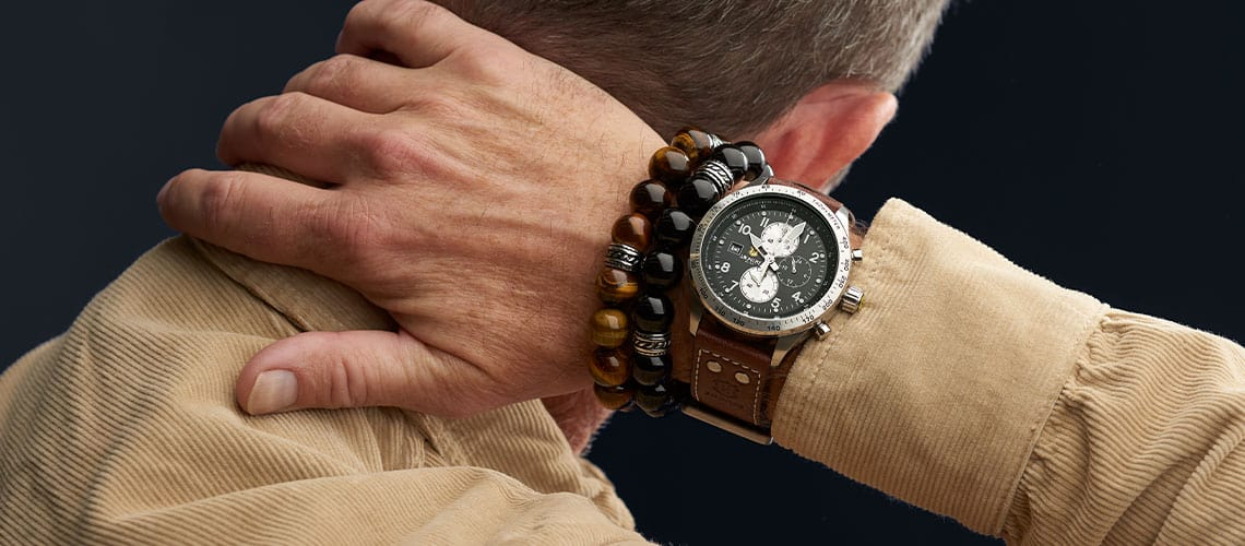 Men's Jewelry Show Your Rugged Side