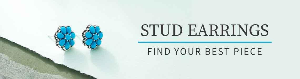STUD EARRINGS FIND YOUR BEST PIECE