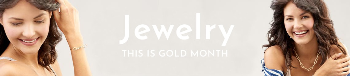 GOLD MONTH LOGO  JEWELRY SHOP INSPIRING GOLD JEWELRY
