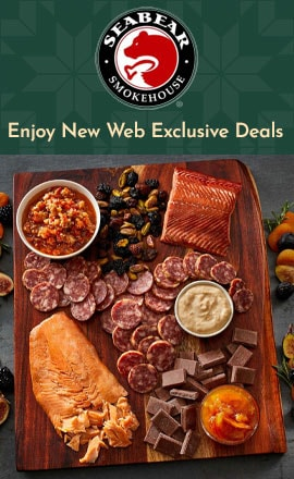 Enjoy New Web Exclusive Deals - 510-254 SeaBear Ultimate Charcuterie Collection -