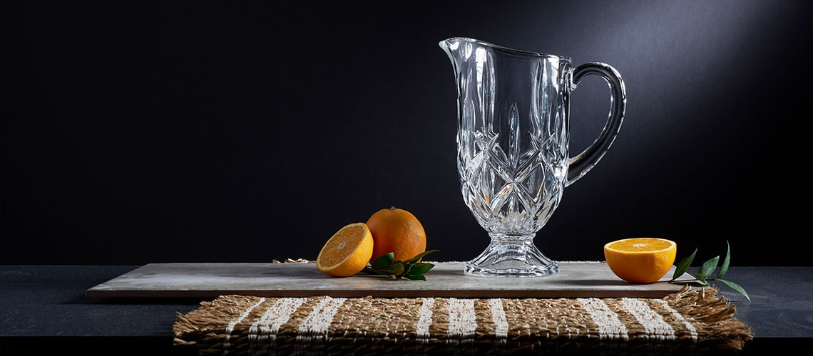 488-922 Marquis by Waterford 10 Footed Pitcher
