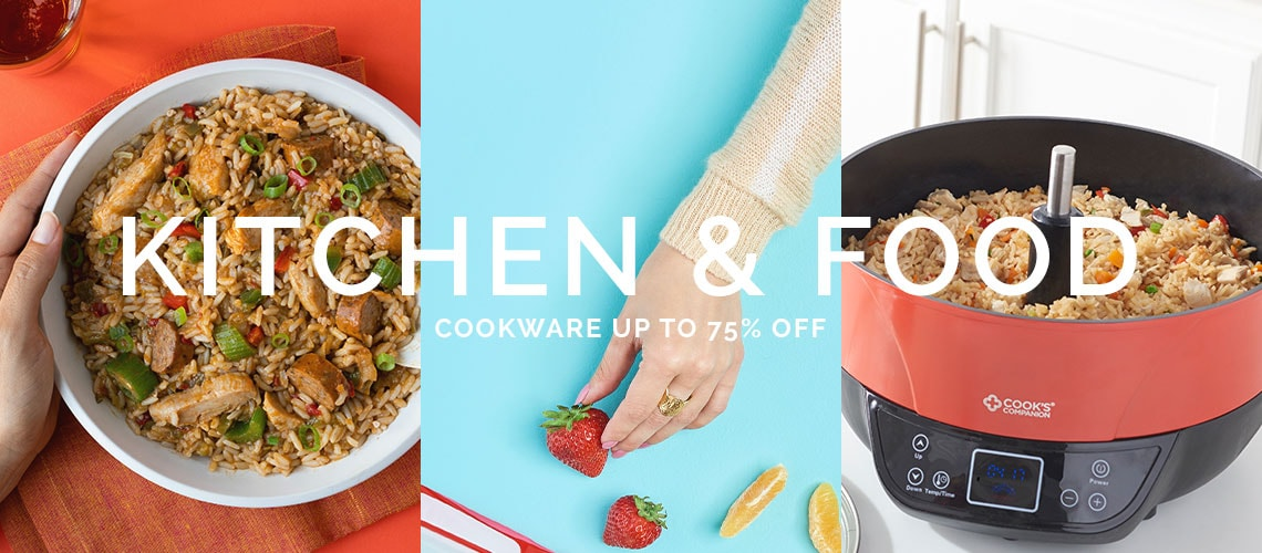 Kitchen & Food Cookware Up To 75% Off
