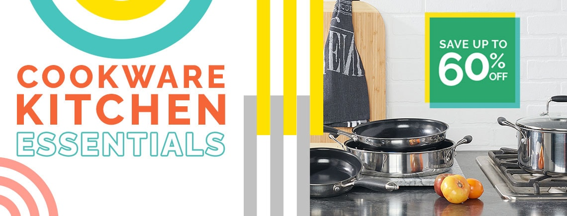 Cookware Kitchen Essentials Save Up To 60% Off