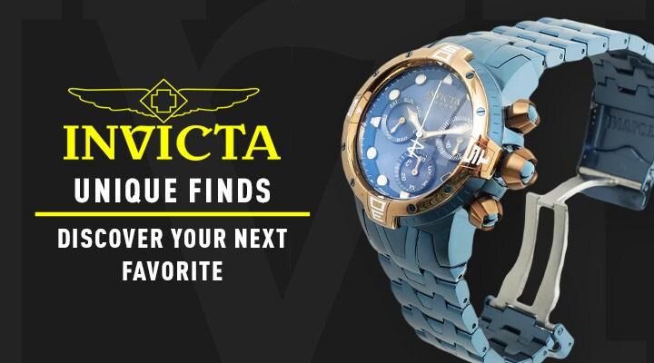 Invicta Unique Finds Discover Your Next Favorite - 679-113 Invicta Reserve Men's 50mm Sea Excursion Swiss Quartz Chronograph Bracelet Watch