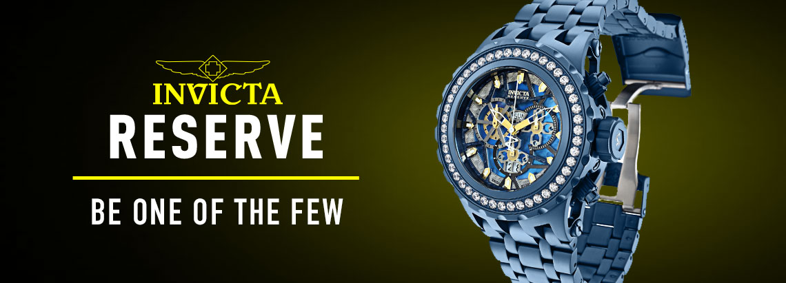 682-167 Invicta Reserve 52mm Subaqua Specialty Blue Label Swiss Quartz 6.44 DEW Simulated Diamond Watch