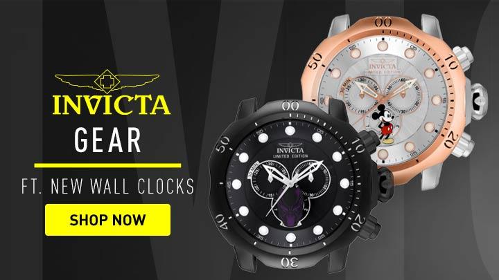 683-606 Invicta Disney® 19 Venom Quartz Wall Clock - 683-610 Invicta Marvel 19 Venom Quartz Wall Clock