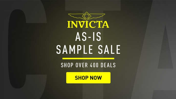 Invicta As-Is Sample Sale Shop Over 400 Deals