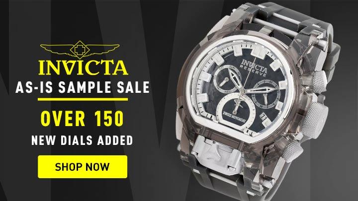 687-630 As Is Invicta Reserve 52mm Bolt Zeus Magnum Swiss Quartz Watch w 4pc Strap Set