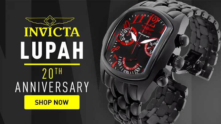 Lupah  20th Anniversary - 689-589 Invicta 45mm Dragon Grand Lupah 20th Anniversary Swiss Quartz Chronograph Watch