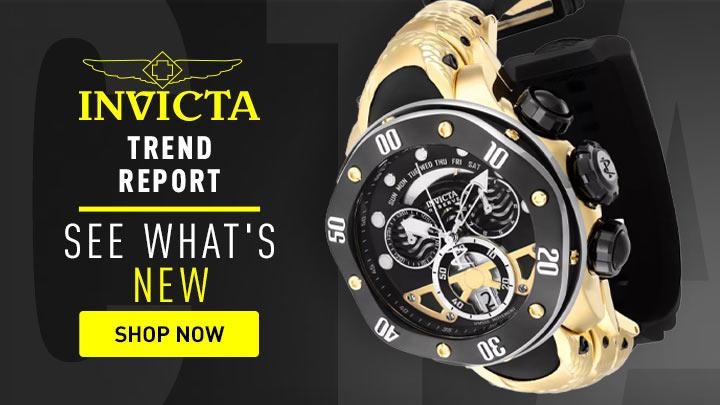 Trend Report See What's New - 691-754 Invicta Reserve Kraken Men's 54mm Swiss Quartz Chronograph Silicone Strap Watch