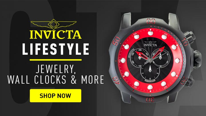 Lifestyle Jewelry, Wall Clocks & More - 683-605 Invicta 19 Venom Black Label Quartz Wall Clock