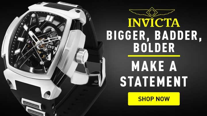 683-365 Invicta Men's 53mm Diablo Mechanical Automatic Skeletonized Watch w 15-Slot Dive Case