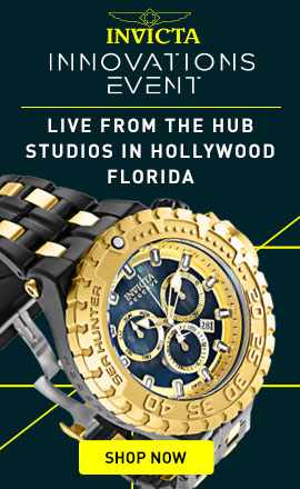 Invicta Innovation Event  LIVE from the Hub Studios in Hollywood Florida 684-826 Invicta Reserve Men's 57mm Sea Hunter Swiss Quartz Chronograph Mother-of-Pearl Bracelet Watch