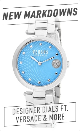 Watches  Versus Versace  676-113 676-113 Versus Versace Women's Buffle Bay Quartz Stainless Steel Bracelet Watch