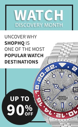 Watch Discovery Month  Uncover why ShopHQ is One of The Most Popular Watch Destinations - Up to 90% Off! 692-948 Invicta 45mm Pro Diver Soda Automatic Date Meteorite Dial Stainless Steel Bracelet Watch