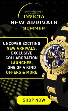 Invicta New Arrivals - Uncover Exciting New Arrivals, Exclusive Collaboration Launches, One of a Kind Offers & More 683-585 Invicta 47mm Subaqua Noma I Limited Edition Quartz Chronograph Abalone Bracelet Watch