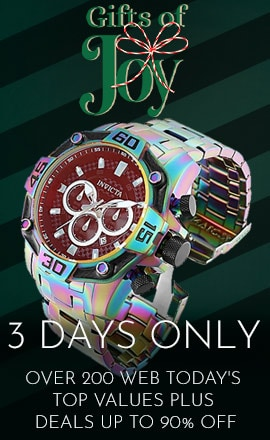 Gifts Of Joy - Over 200 Web Today's Top Values Plus Deals Up to 90% Off