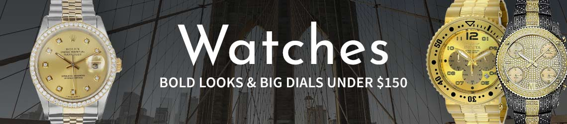 Watches Bold Looks & Big Dials Under $150 - 668-064  633-210  686-828