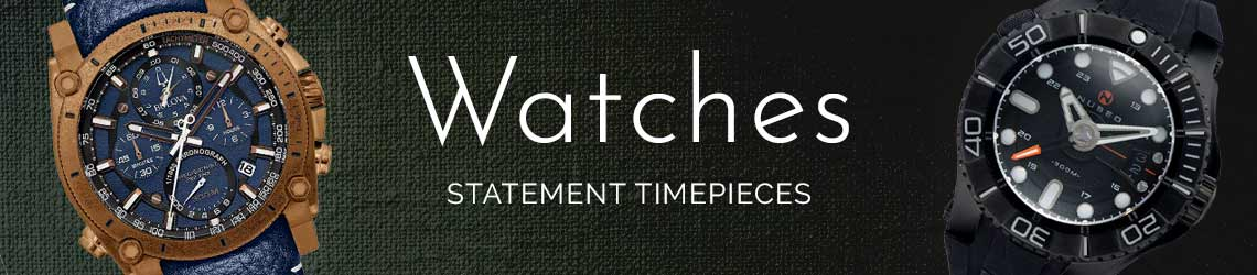 Watches - Statement Timepieces