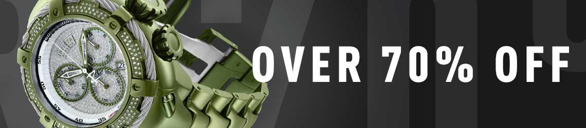 Over 70% Off - 696-923 As Is Invicta Reserve 52mm Thunderbolt 1.62ctw Diamonds & Mint Quartz Watch