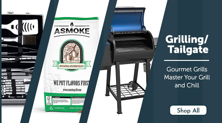 Gourmet Grills Master Your Grill and Chill 501-793, 503-134, 493-111