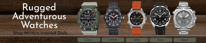 694-174, 651-292, 649-514, 690-998, 690-601 Rugged Adventurous Watches Shop Military Inspired Dials